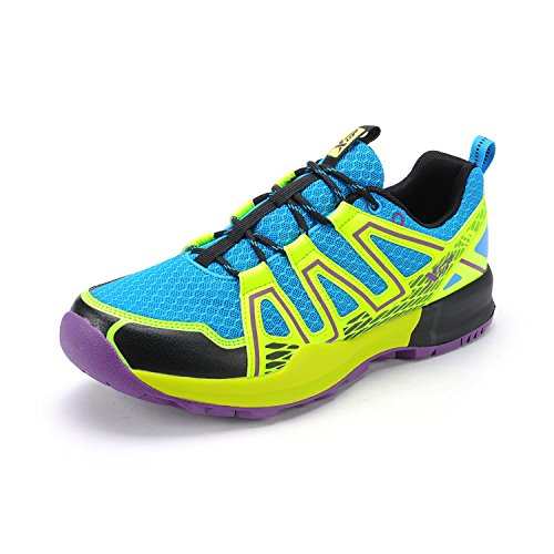 XTEP Mens Sports Shoes Athletic Running Shoes (Green) - 6
