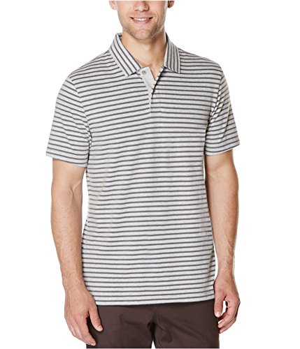 0bea902489 Gender  MensCountry of Manufacture  ChinaCollar Style  SpreadFastening   Button ClosureFit  Classic F. Perry Ellis Mens Striped Performance Rugby Polo  Shirt ...