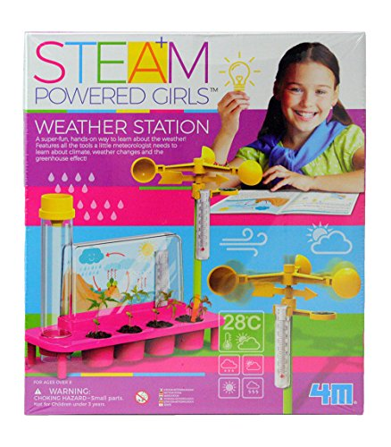 Price comparison product image 4M 3820 Steam Powered Girls Weather Station Toy