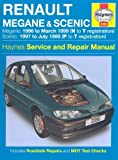 Renault Megane and Scenic Petrol and Diesel Service and Repair Manual: 1996 to 1999 (Haynes Service and Repair Manuals) by Harry Hill (2006-11-01)