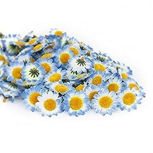 100Pcs Artificial Flowers Wholesale Fake Flowers Heads Gerbera Daisy Silk Flower Heads Sunflowers Sun Flower Heads for Wedding Party Flowers Decorations Home D¡§?cor 2