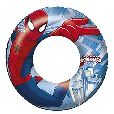 Bestway Spiderman - Flotador Hinchable: Amazon.es: Juguetes y juegos