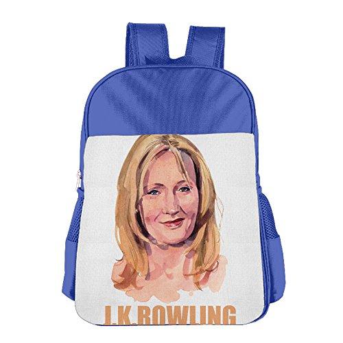 JXMD Custom J.K. Rowling Children School Bagpack For 4-15 Years Old RoyalBlue (Ratchet Costume)