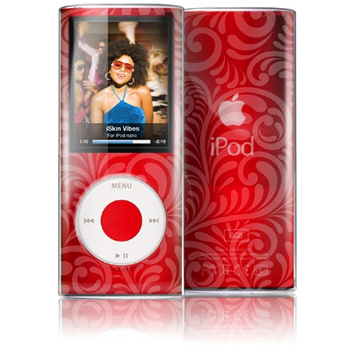 Iskin Ipod Case (iSkin ISKVBSN4GIY Vibes Clear Skin Protective Bodyguard for iPod Nano 4G - Ivy)