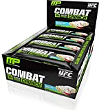 Muscle Pharm Combat Crunch Bars, Birthday Cake, 12 Count, Net Wt. 26.67 Ounce