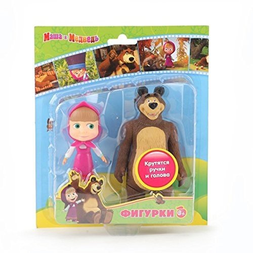 Masha and the Bear Medved , doll Masha Bear toys figures