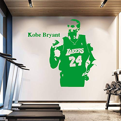 Poster Wall Stickers Kobe Bryant Removable Wallpaper Sport Basketball Player New NBA Star Never Give Up Strong Man 114X118Cm