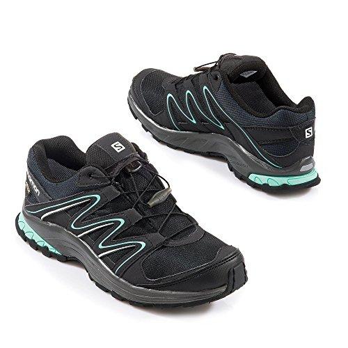 Salomon - Zapatillas de nordic walking de Material Sintético para mujer Lava Orange/Blue Yonder