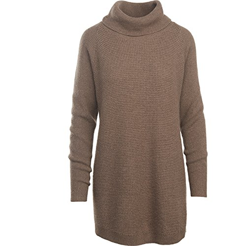 Woolrich Women's Clapshaw Cowl-Neck Tunic Sweater, Heddle Heather, Small