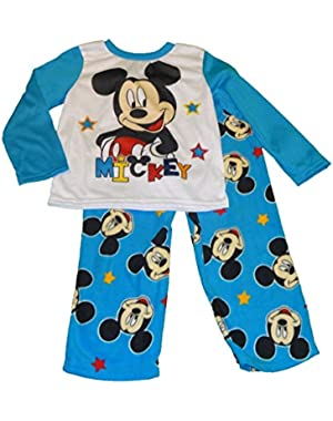 Disney Mickey Mouse Clubhouse Toddler Boys 2 Piece Pajama Set (5T)