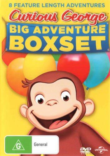 Curious George Big Adventure Box Set   8 Discs   NON-USA Format   PAL   Region 4 Import - Australia