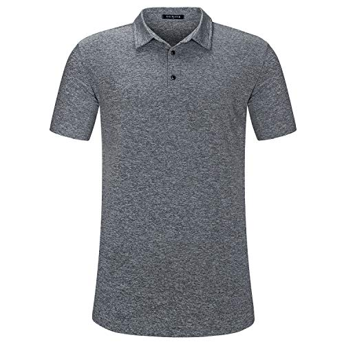GUXITE Mens T Shirts Casual Sports Type with Round Neck Short Sleeve t-Shirt and Casual Tops Slim Fit Blouse Shirts