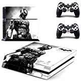 PS4 Batman:Arkham knight Waterproof Vinyl Skin Decal Cover for Playstation 4 System Console and Controllers