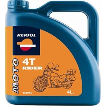 Aceite Repsol Moto Rider 4t 15w50 4l