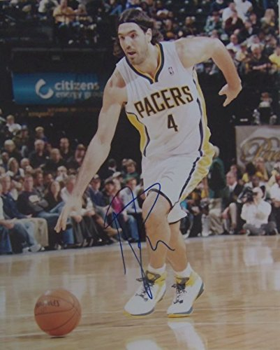 Luis Scola Signed Autographed Glossy 8x10 Photo - Indiana - Luis Mall