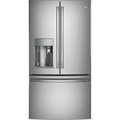 GE Profile PYE22PSKSS 36u0026quot; Counter Depth French Door Refrigerator
