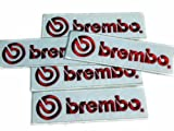 Brembo Auto Discs Racing Patches Limited 5pcs Embroidered Patch SIZE :1.5 x 4.5 INCHES