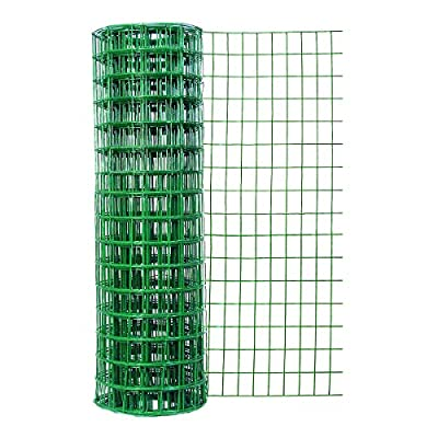 Garden Zone Gauge Vinyl Coated Garden Fence with Openings