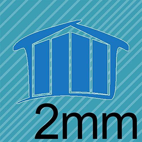 30x80 cm Homedeco-24 Antireflex-Acrylglas 2mm Platte Zuschnitt in verschiedenen Gr/ö/ßen Hier