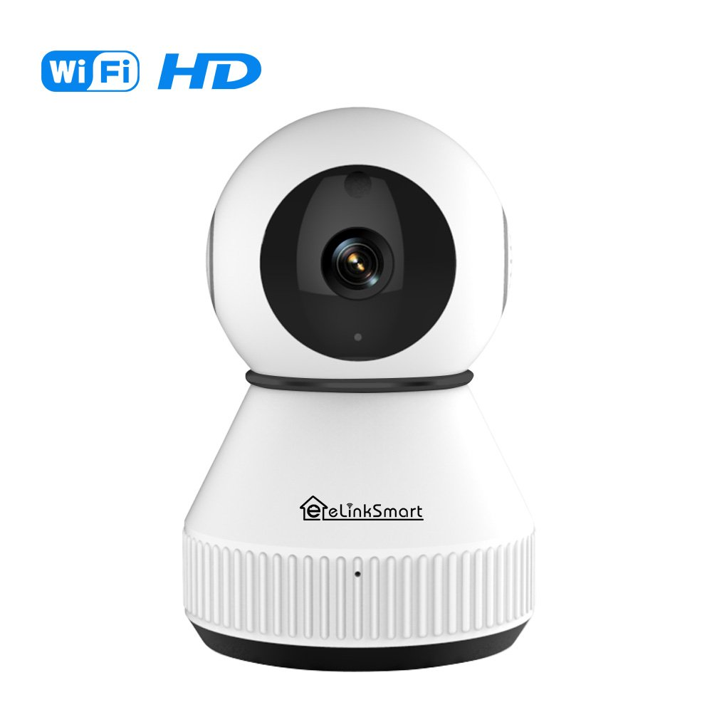 eLinkSmart WiFi Camera Wireless IP Camera Indoor Security Camera with Active Call Two-Way Audio Video Recording Night Vision Motion Detection 960P