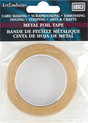 Jones Tones Foil (Jones Tones AE Foil Tape, Brass by Amaco)