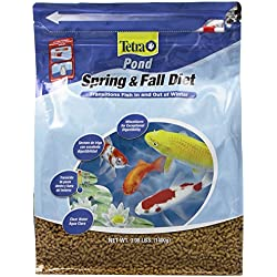 TetraPond Spring & Fall Diet Floating Pond Sticks, 3.08-Pound