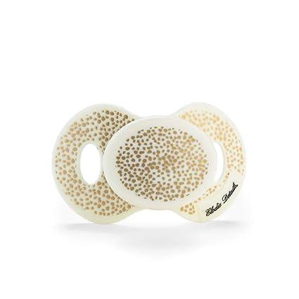 Elodie Detalles, Oro Shimmer Chupete para el Recién Nacidos: Amazon ...