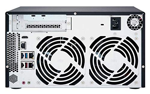 QNAP TVS-872XT-i5-16G-US 8 Bay Thunderbolt 3 NAS with 16GB RAM, 10GbE, M.2 PCIe NVMe SSD slots by QNAP (Image #6)