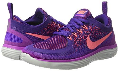 Mujer Purple De hyper Glow Free Grape Nike Zapatillas lava Entrenamiento court 2 Run Morado hot Distance Para P Xq8pwqZS