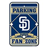 MLB San Diego Padres Plastic Parking Sign