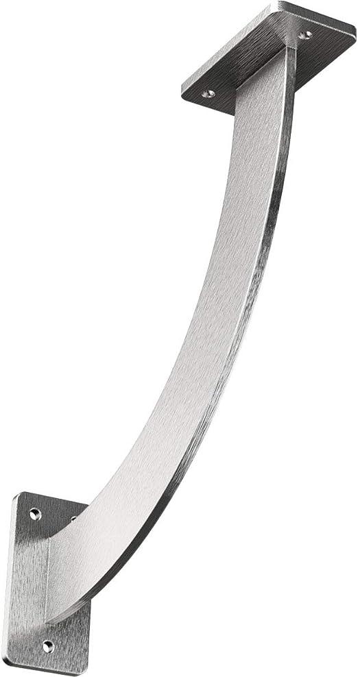 Ekena Millwork BKTM02X14X14HACRS  2-Inch W x 14-Inch D x 14-Inch H Hamilton Bracket Steel