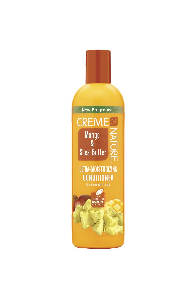 Creme of Nature Mango & Shea Butter Ultra Moisturizing Conditioner, 12 Ounce (75724219304)