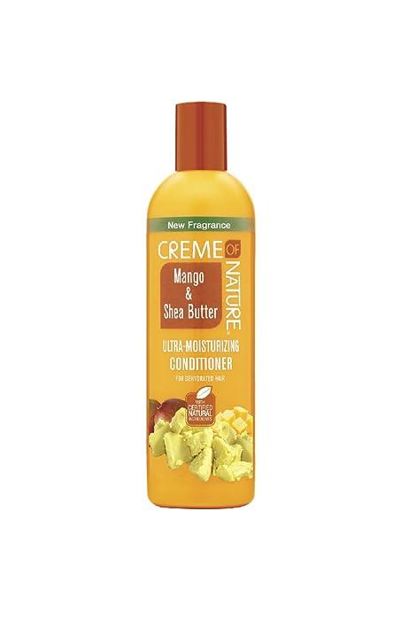 Creme of Nature Mango & Shea Butter Ultra Moisturizing Conditioner, 12 Ounce (75724219304)