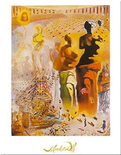 (Buyartforless Le Torero Hallucinogene by Salvador Dali 20x16 Art Print Poster)