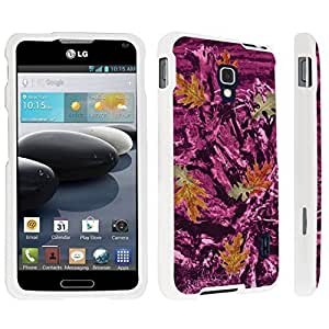 linJUN FENGDuroCase ? LG Optimus F6 Hard Case White - (Hunter Camo Pink)