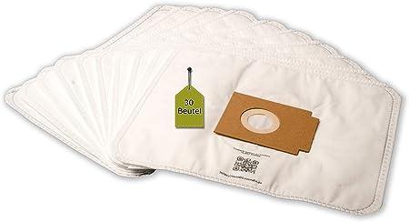 20 Bolsas de aspiradora apta para Ufesa Mat 401 electr. , de 5 capas eVendix Bolsa de microfibras® 30 bolsas de basura: Amazon.es: Hogar