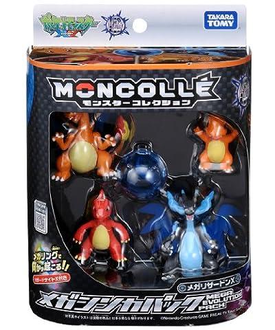 Pokemon Monster Collection Mega Evolution Pack Mega Charizard X (Mega Charizard Ex Japan)