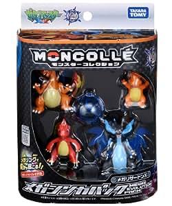 Takara Tomy Pokemon Monster Collection Megaevoluzioni Pack Mega Charizard