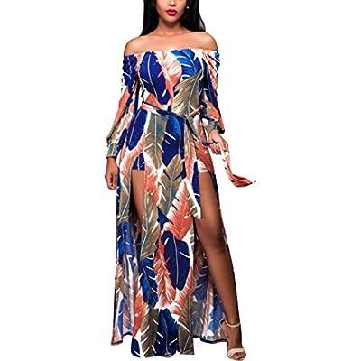 Clearance Sale! ZTY66 Women Dresses,Ladies Summer Boho Long Maxi Dress Evening Party Beach Dress Sundress