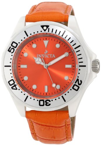 Invicta Women's 11297 Ceramic Orange Dial Interchangeable Strap Watch