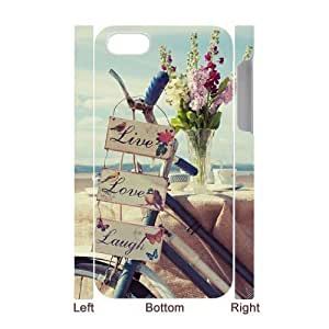 linJUN FENGLive Laugh Love Customized 3D Cover Case for Iphone 4,4S,custom phone case ygtg577660