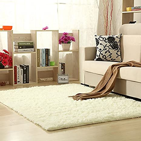 Aicehome Area Rug,Soft Girls Bedroom Rug,Fluffy Thicken Anti Slip Bottom For