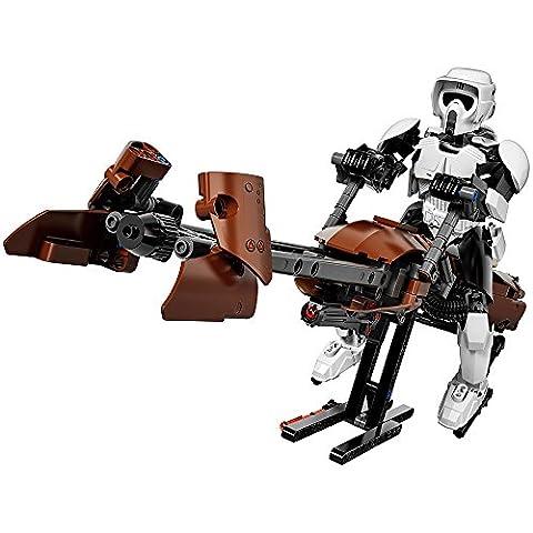 LEGO Star Wars Scout Trooper & Speeder Bike 75532 Building Kit - Trooper Model