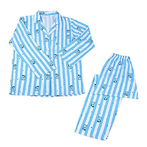 Yicool Kpop Pajamas Set Cute Cartoon Characters Sleepwear Long Sleeve Top and Pant Sets