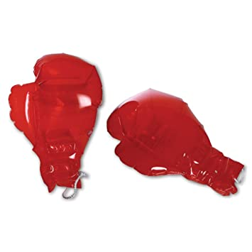 16 x hinchable Boxeo Guantes de boxeo goma Guantes de boxeo ...