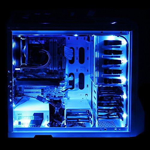Leddess 2pcs case led pc light strip with magnetic for computer case leddess 2pcs case led pc light strip with magnetic for computer case pc case lighting kitblue30cm18leds ea4596fb07d67379ff6801d2b67d7051 aloadofball Choice Image