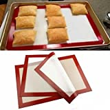 DeemoShop 30x21cm Healthy Homewares Durable Silicone Baking Mat Non-Stick Cookie Sheet Oven Baking Mat Liner