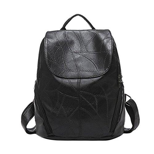 donne PU borse, Brezeh moda donna borsa zaino Zaino da donna carino ragazze impermeabile borse
