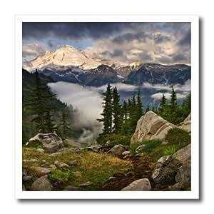 ht_95587_3 Danita Delimont - Washington - Washington, North Cascades, Mt. Baker - US48 DSV0192 - David Svilar - Iron on Heat Transfers - 10x10 Iron on Heat Transfer for White Material