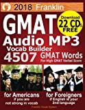 2018 Franklin GMAT Audio MP3 Vocab Builder: Download 22 CDs: 4507 GMAT Words For Your High GMAT Score